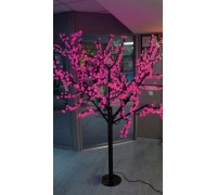 Светодиодное дерево сакура 1,9x1,5 м. 24V розовый